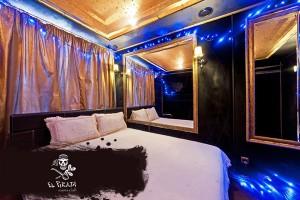 Интерьер комнаты отдыха настроит на романтический лад даже самую чёрствую натуру )